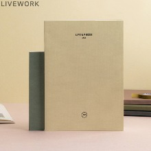 LIVEWORK Life & Pieces Note L 1ea,Beauty Box Korea,Other Brand,Other