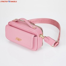STRETCH Flap Multi Panni Bag #Pink (SUMR22011-PK) 1ea,Beauty Box Korea,Other Brand,Other