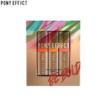 PONY EFFECT Enamel Lip Lacquer Mini Kit 3items