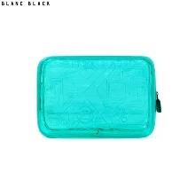 BLANC BLACK PVC Travel Pattern Pouch 1ea,Beauty Box Korea,Other Brand,Other