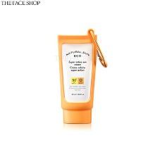 THE FACE SHOP Natural Sun Eco Super Active Sun Cream SPF50+ PA++++ Special Set 2items