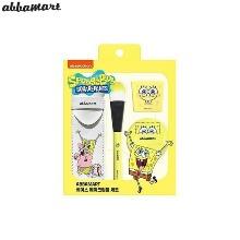 ABBAMART Spongebob Base Makeup Tool Set 4items [ABBAMART X SPONGEBOB]