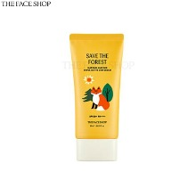THE FACE SHOP Natural Sun Eco Super Active Sun Cream SPF50+ PA++++ 50ml [Save The Forest]
