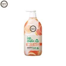 HAPPY BATH Grapefruit Essence Body Wash 900g [Less Plastic Limited Edition]