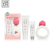 CARE ZONE Deep Clean Gentle Peeling Gel Special Peach Set 3items