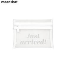 MOONSHOT White Mesh Pouch 1ea,Beauty Box Korea,MOONSHOT,YG Family(Moonshot Global)