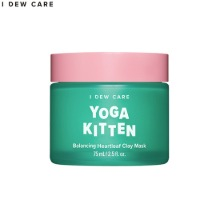 I DEW CARE Yoga Kitten Balancing Heartleaf Clay Mask 75ml