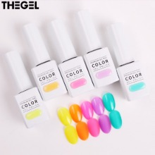 THE GEL Fruit Cocktail Edition Syrup Gel Nail Set 5items (#216-#220)