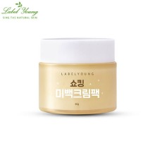 LABELYOUNG Shocking Whitening Cream Pack 50g