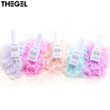 THE GEL Sugar Syrup Edition Pearl Syrup Nail Set 5items (#211-#215),Beauty Box Korea,Other Brand,Other