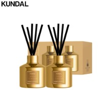 KUNDAL Perfume Diffuser Gold Limited Edition 200ml Set 2items
