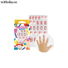 WITHSHYAN Girl's Nail Tip 1ea