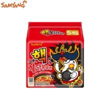 SAMYANG New Spicy Fried Noodle Buldak Bokkeum Myun 140g*5ea