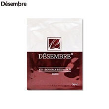DESEMBRE 3 In 1 Invisible Silk Mask III 30ml,Beauty Box Korea