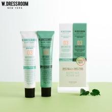 W.DRESSROOM Perfume Hand Cream+Hand Wash No.03 Baby Green Tea Duo Set 2items
