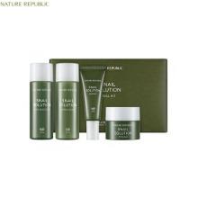 [mini] NATURE REPUBLIC Snail Solution Trial Kit 4items,Beauty Box Korea,NATURE REPUBLIC,Nature republic