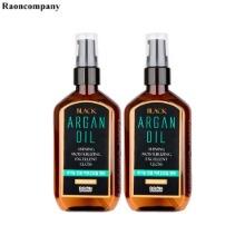 RAON Black Argan Oil 100ml*2ea,Beauty Box Korea