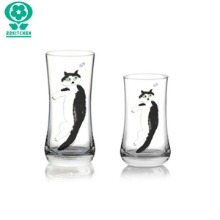 22KITCHEN Butterfly & Cat Glass Cup 1ea,Beauty Box Korea,Other Brand,Others