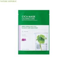 NATURE REPUBLIC Green Derma Mild Cica Calming Care Mask Sheet 25ml