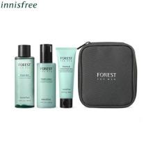 INNISFREE Forest For Men Fresh Skin Care Set 4items,Beauty Box Korea