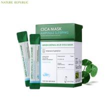 NATURE REPUBLIC Green Derma Mild Cica Ampoule Sleeping Mask 4ml*21ea