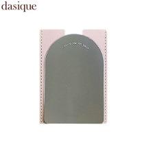 DASIQUE Leather Pouch Mirror 1ea,Beauty Box Korea,DASIQUE,Cosvision Ltd.