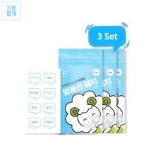 FEEL GOOD Aroma Speech Balloon Patch for Masks 3Set 24items