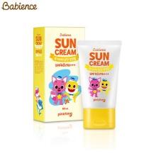 BABIENCE Baby Mild Sun Cream SPF40 PA+++ 60ml [BABIENCE X PINKFONG],Beauty Box Korea
