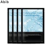 ABIB Gummy Sheet Mask 27~30ml*4ea,ABIB
