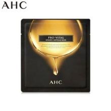 AHC Pro-vital Golden Ampoule Mask 25ml,Beauty Box Korea