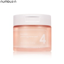NUMBUZIN No.4 Pore Zero Peeled Egg Toner Pad 70ea 180ml