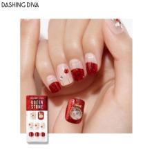 DASHING DIVA Queen Stone Magic Press 1ea [Wonder Red Premium]