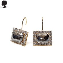 BLACK MUSE Luxury Square Hoop Earrings 1pair,Beauty Box Korea,&OTHER STORIES,Other