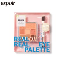 ESPOIR Real Eye Palette With Brush Set 2items [2020 OLIVE YOUNG Awards]
