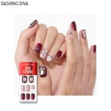 DASHING DIVA Big Stone Magic Press 1ea [Wonder Red Premium]