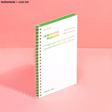 MOTEMOTE X LIVE ON 10 Minutes Planner 100Days 1ea