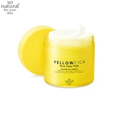 SO NATURAL Yellow Cica Pore Clear Pad 70ea 140ml