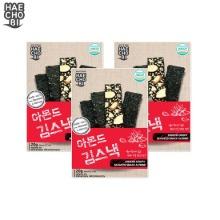 HAECHOBI Chocho Crispy Seaweed Snack Almond 20g*3ea