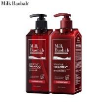 MILK BAOBAB Sensitive Shampoo+Treatment Damask Rose Set 2items