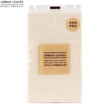 URBAN LEAVES No fluorescence No bleach Cotton Pads 140ea