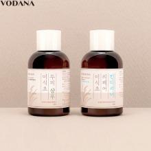 VODANA Rice Vinegar Repair Shampoo & Conditioner 40ml Set 2items
