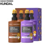 KUNDAL X KAKAOFRIENDS Nature Shampoo 500ml + Protein Treatment 500ml Set 2items