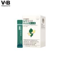VITAL BEAUTIE Green Tea Probiotics From Jeju Island 51g*30ea
