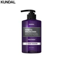 KUNDAL Honey & Macadamia Protein Hair Treatment 500ml