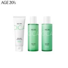 AGE 20'S Cica SOS Skin Care Set 3items