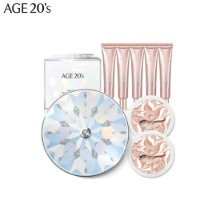 AGE 20'S Signature Essence Cover Pact 8items [Dancing Snow Edition]