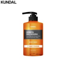 KUNDAL Honey & Macadamia Pure Body Wash 500ml