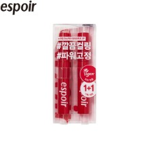 ESPOIR No Mudging Mascara Waterproof XP Clean Black Set 2items
