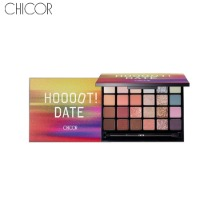 CHICOR Final Step Shadow Palette Hoooot Date 21g