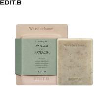 EDIT.B Natural Artemisia Cleansing Bar 100g